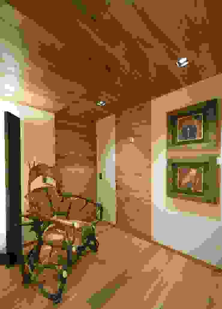 STUDIO CERON & CERON Modern Corridor, Hallway and Staircase