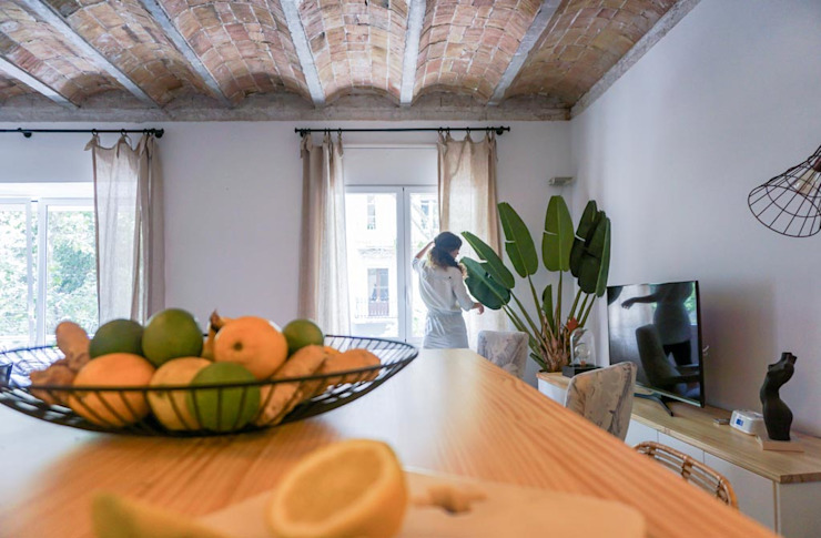 Napoles Bloomint design Livings de estilo ecléctico Multicolor
