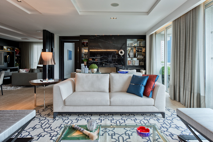 Studio Leonardo Muller Modern living room