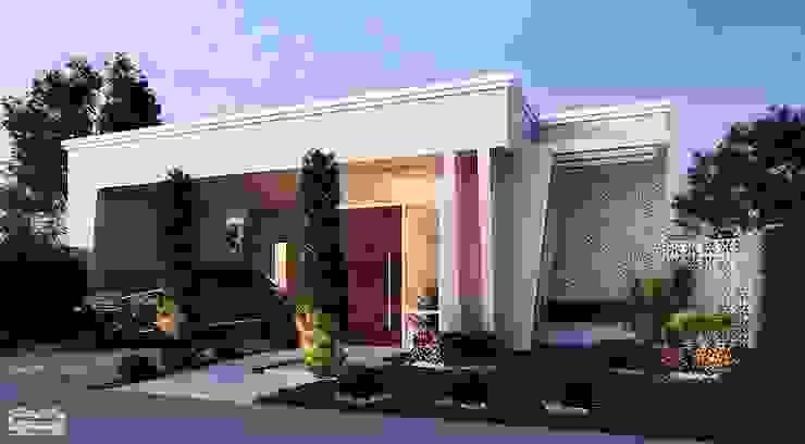 Rumah Modern Oleh Art&Contexto Arquitetura Modern