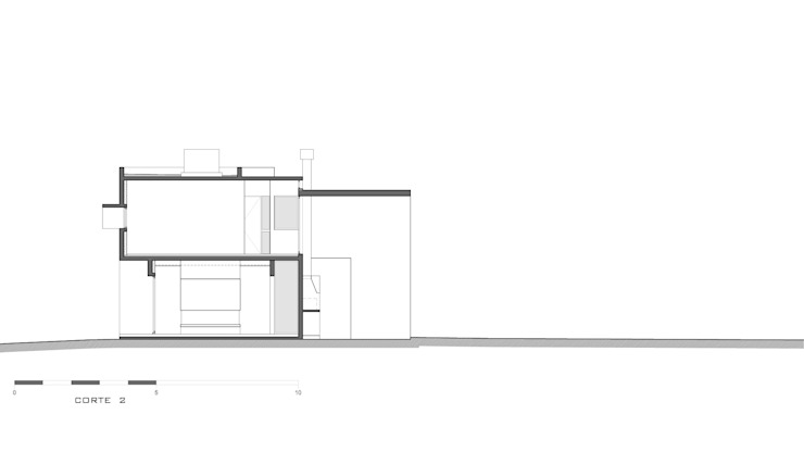 modern  by Besonías Almeida arquitectos, Modern