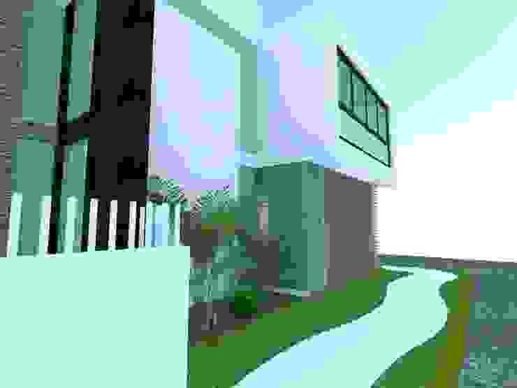 CASA BALLENA Casas minimalistas de Diseño Aplicado Avanzado de Guadalajara Minimalista