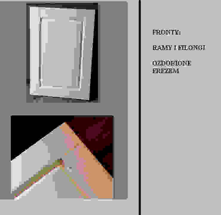 STYLIZOWANE, FREZOWANE FRONTY od Meble - Fashion Project Norbert Bakuła Klasyczny