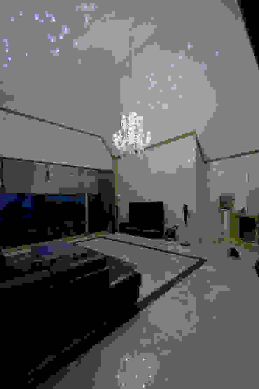 이입재 거실 모던스타일 거실 by 도반건축사사무소 모던 대리석