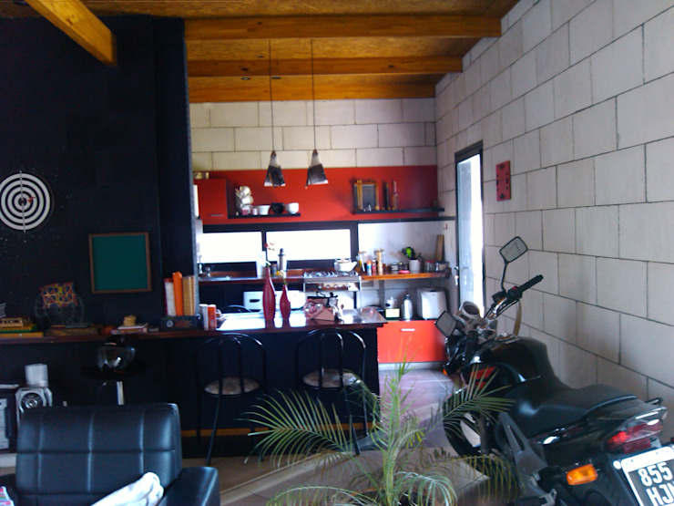 Кухня в стиле минимализм от Marcelo Manzán Arquitecto Минимализм