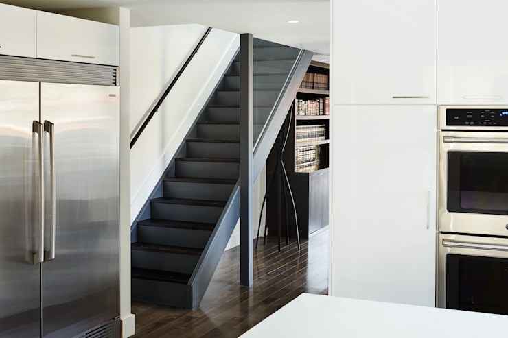 Modern Corridor, Hallway and Staircase by M Monroe Design Modern