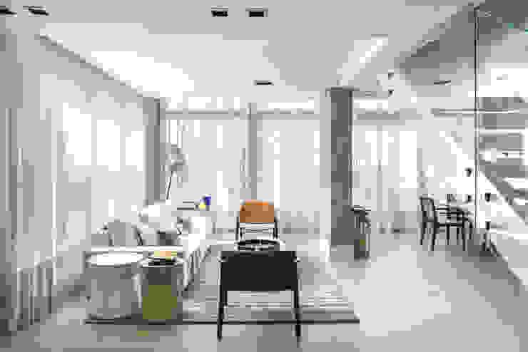 Living Salas de estar modernas por Studio Leonardo Muller Moderno