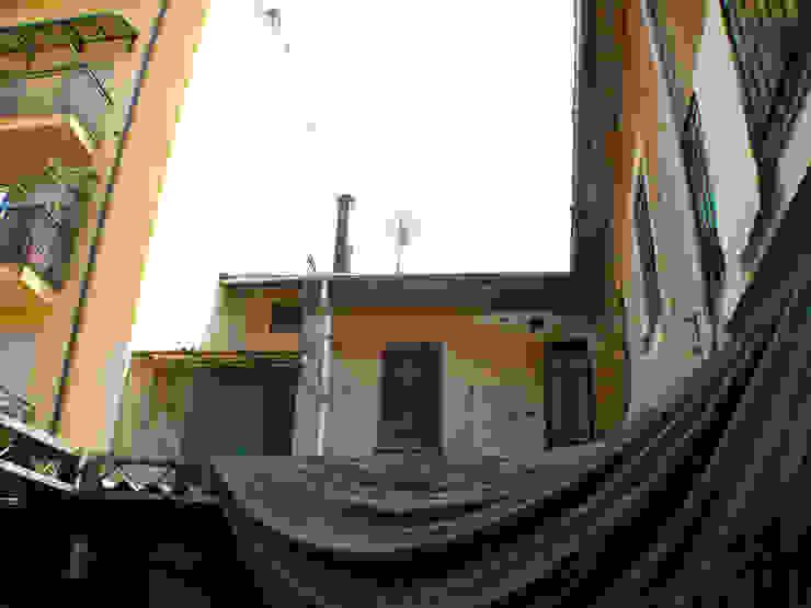 Punto di partenza - prospetto Nord Case in stile rustico di Fabio Ricchezza architetto Rustico
