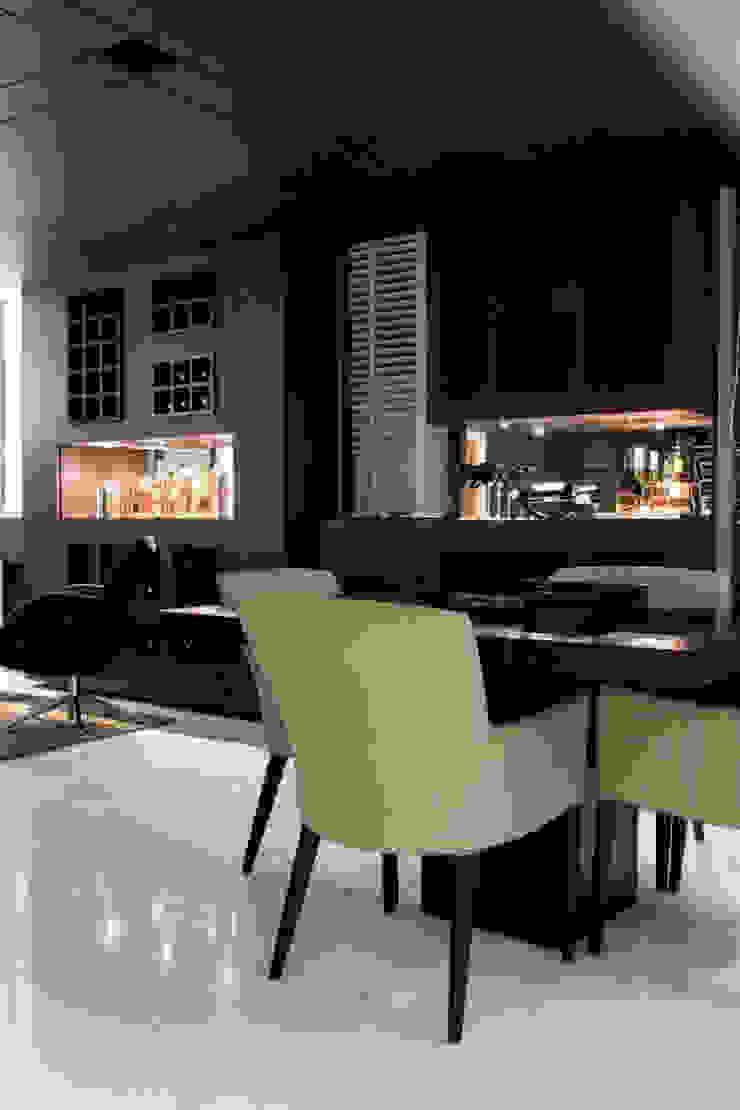 Copa Studio Leonardo Muller Salas de estar modernas Madeira