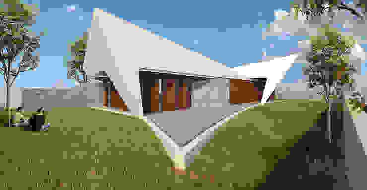 Casas de estilo  de Office of Feeling Architecture, Lda