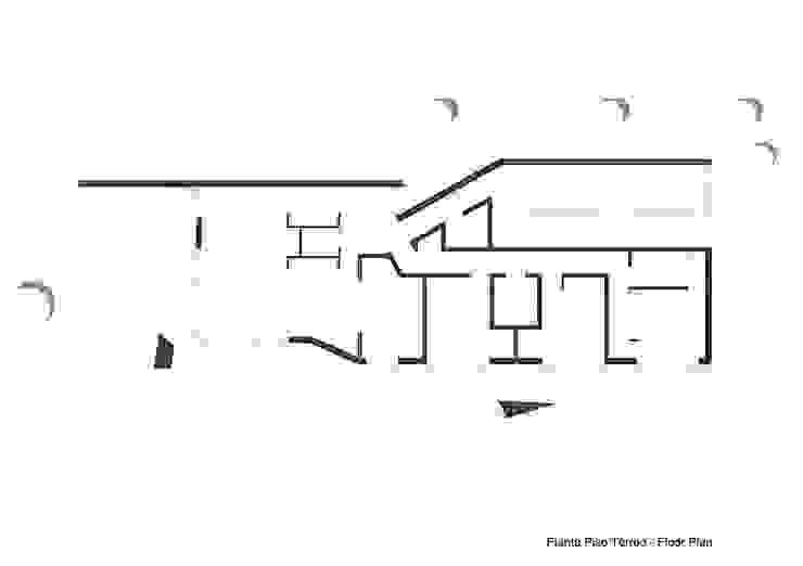 Habitação Unifamiliar Isolada T3 - Fusão da Dispersão por Office of Feeling Architecture, Lda Moderno