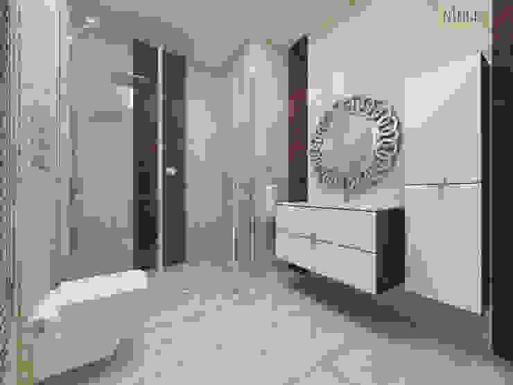 Salle de bain moderne par nihle iç mimarlık Moderne Céramique