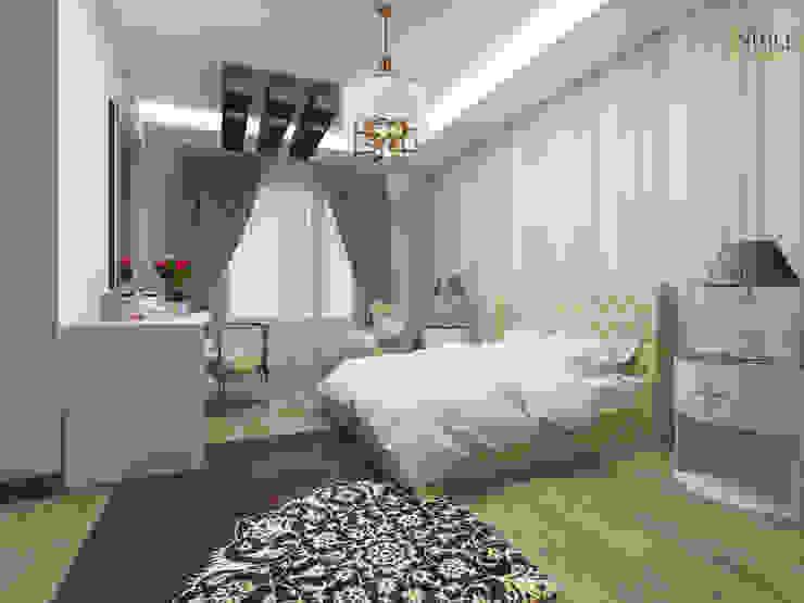 Chambre moderne par nihle iç mimarlık Moderne