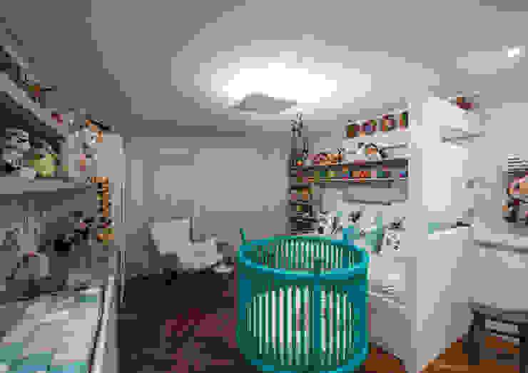Quarto do Bebê Studio Leonardo Muller Quarto infantil moderno MDF Azul