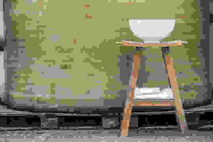 Consolle Zen Ceramiche Addeo BagnoLavabi Legno massello