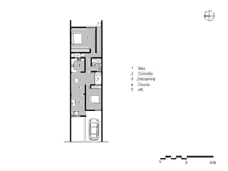 Casa Ana de SRA arquitectos Moderno