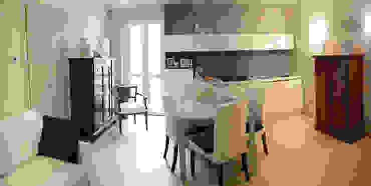 Fabio Ricchezza architetto Modern living room Grey