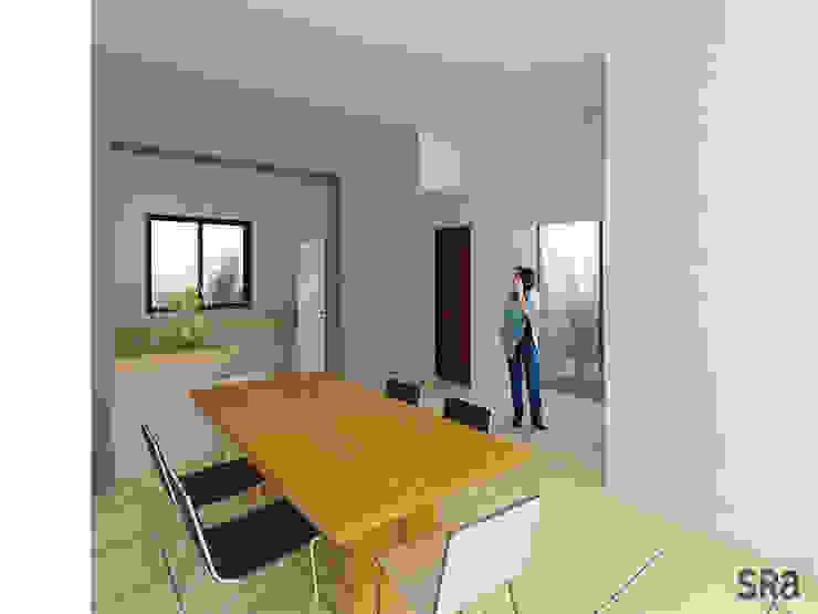 Casa Ana Comedores modernos de SRA arquitectos Moderno
