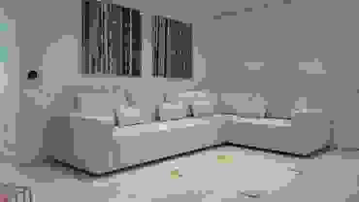 Área de living, La Lagunita. Salas de estilo moderno de THE muebles Moderno