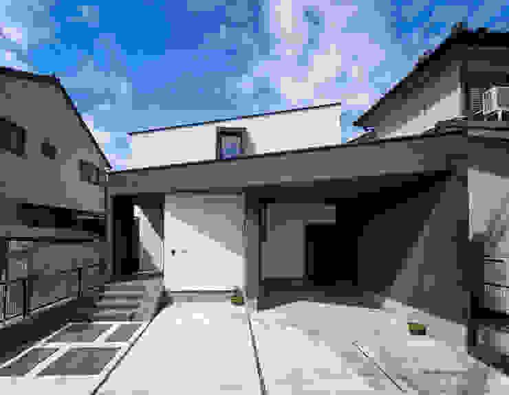 外観 モダンな 家 の H建築スタジオ モダン