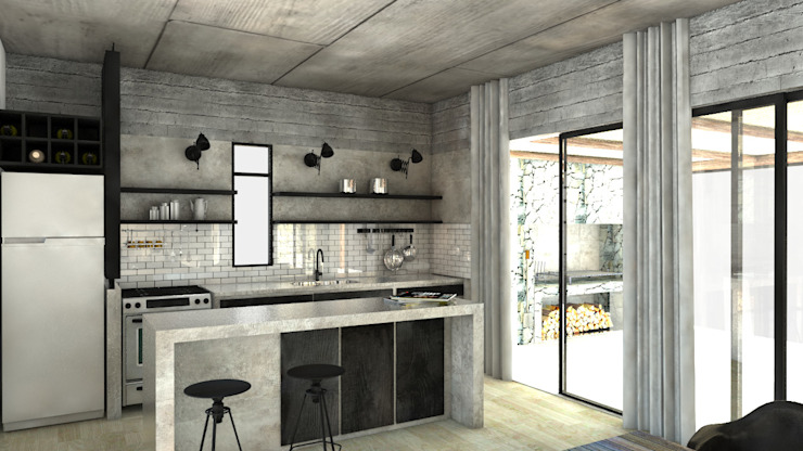 Kitchen by FAARQ - Facundo Arana Arquitecto & asoc.,
