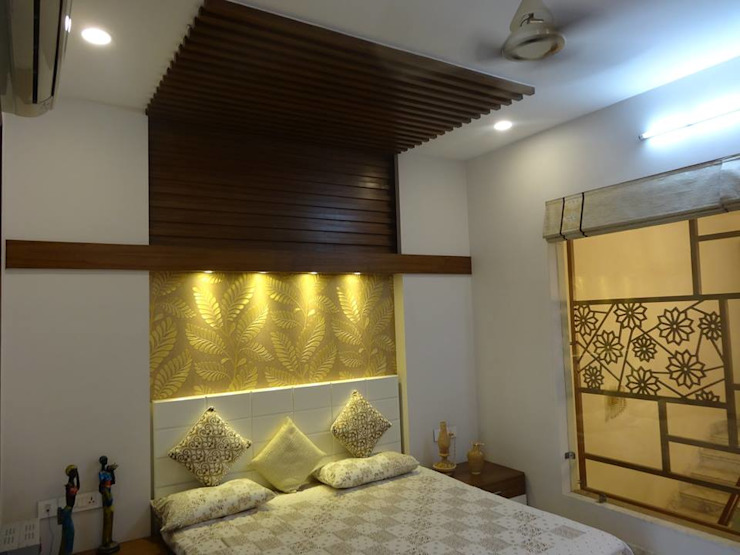 Residence at Meerut Modern style bedroom by Ar. Sandeep Jain Modern