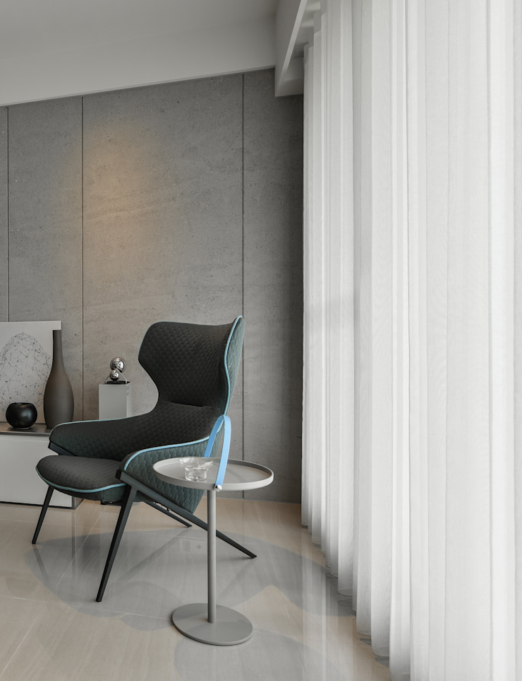 CJ INTERIOR 長景國際設計 Salon moderne