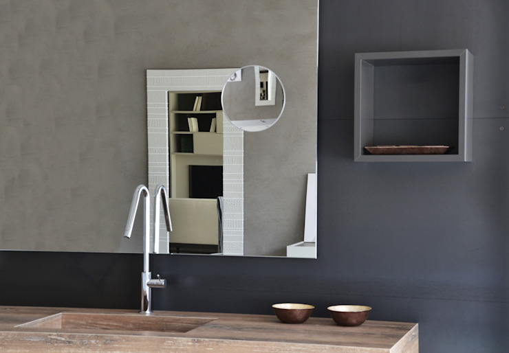 A bathroom different than usual Ronda Design Industrial style bathroom