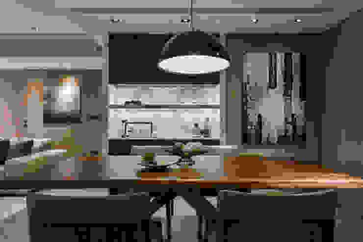 CJ INTERIOR 長景國際設計 Asian style dining room