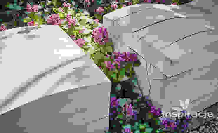 Jardins modernos por Studio architektury krajobrazu INSPIRACJE Moderno