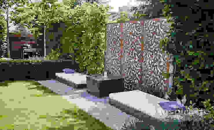 Vườn phong cách hiện đại bởi Studio architektury krajobrazu INSPIRACJE Hiện đại