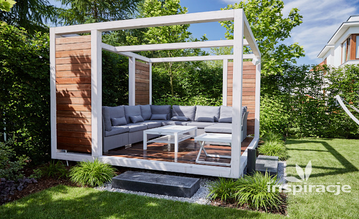 Terrazas de estilo  por Studio architektury krajobrazu INSPIRACJE,