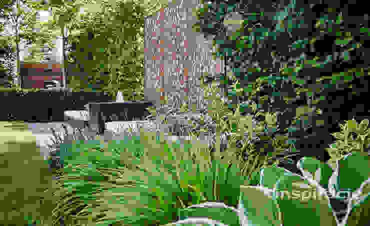 Varandas, marquises e terraços modernos por Studio architektury krajobrazu INSPIRACJE Moderno