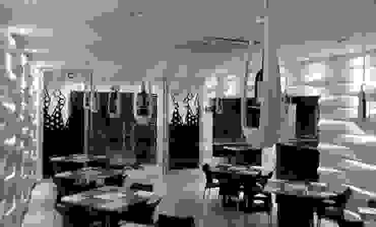 Lámpara Led Porta Vinos de diseño exclusivo de Creart Acabados Moderno Sintético Marrón
