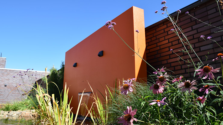 Jardin moderne par KLAP tuin- en landschapsarchitectuur Moderne