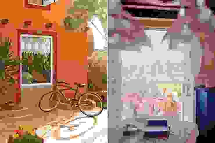 Rustic style garden by Susana Bellotti Arquitectos Rustic