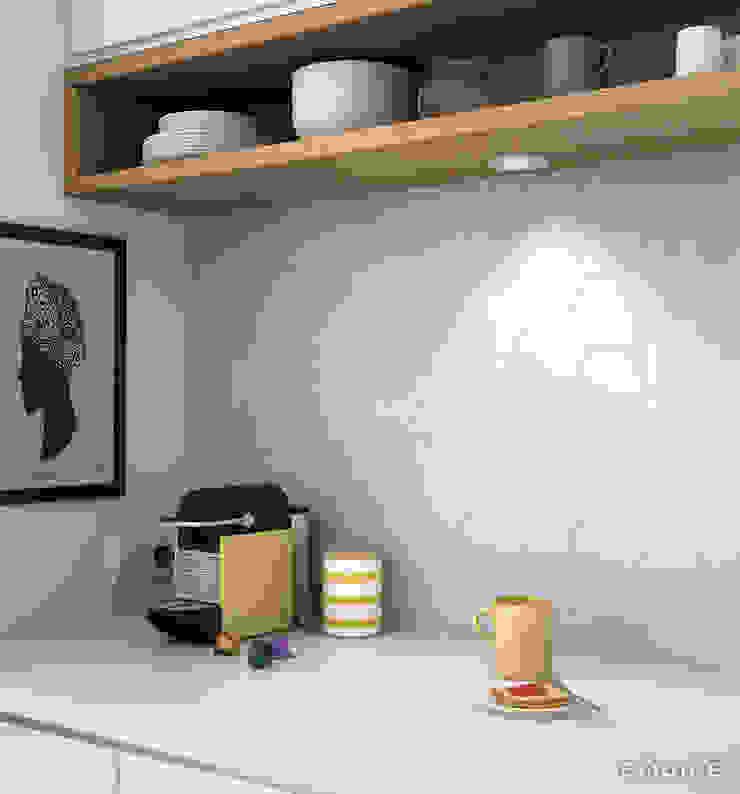 Scale Hexagon Cocinas de estilo mediterráneo de Equipe Ceramicas Mediterráneo Cerámico