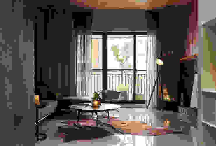 DYD INTERIOR大漾帝國際室內裝修有限公司 Balcon, Veranda & Terrasse modernes