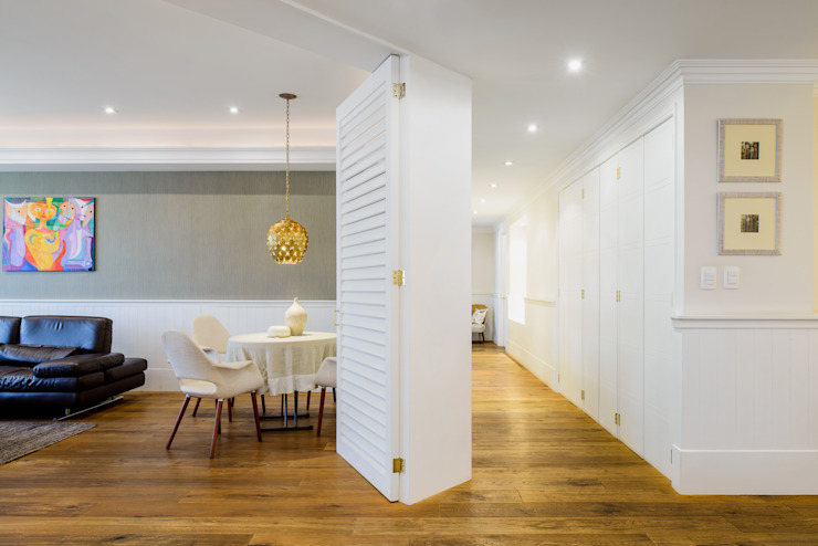 NIVEL TRES ARQUITECTURA Scandinavian style corridor, hallway& stairs