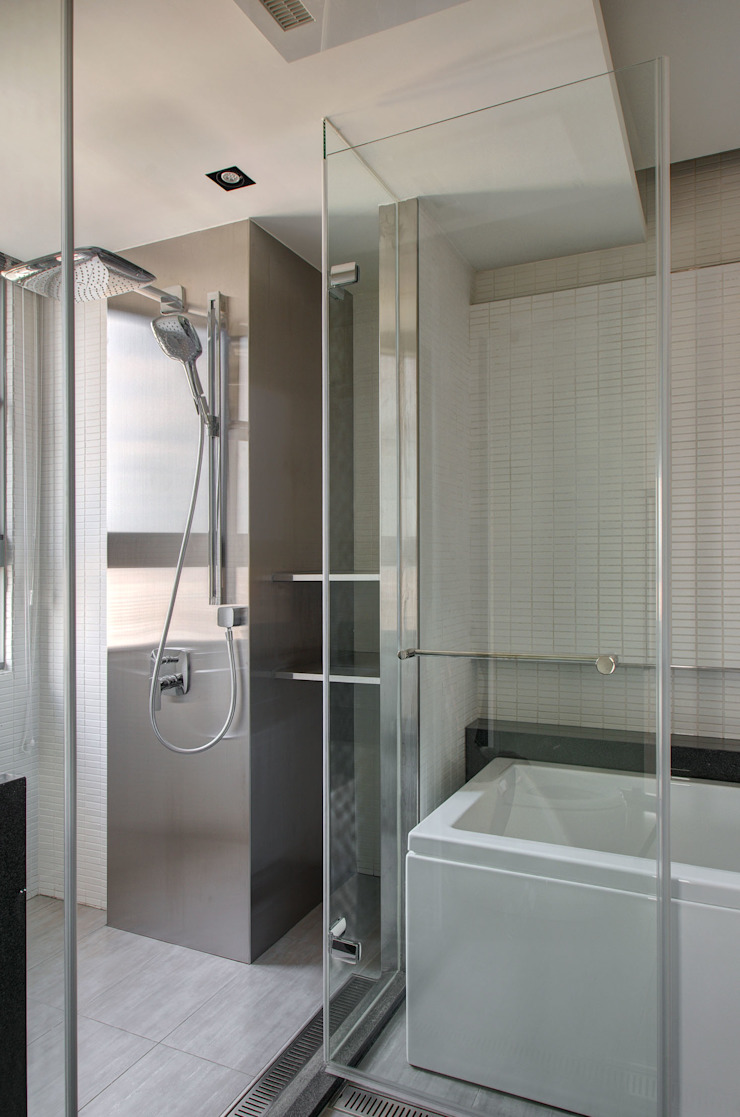 The New Quintessential Modern bathroom by Taipei Base Design Center Modern