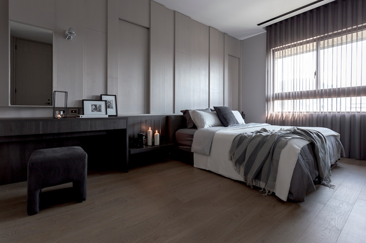 Limited, unlimited Modern style bedroom by Taipei Base Design Center Modern