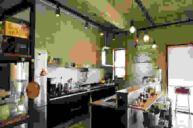 아키제주 건축사사무소 Cozinhas modernas