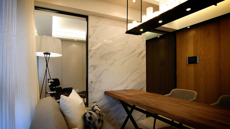 BRAVO INTERIOR DESIGN & DECO ZEN STYLE 现代客厅設計點子、靈感 & 圖片 根據 璞碩室內裝修設計工程有限公司 現代風