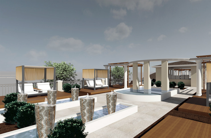 Bangou Spa - Cameroon by House of Gargoyle Modern