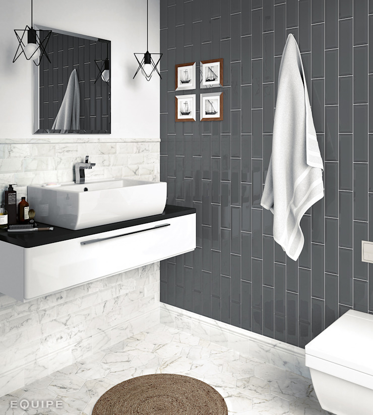 Equipe Ceramicas Modern bathroom Ceramic