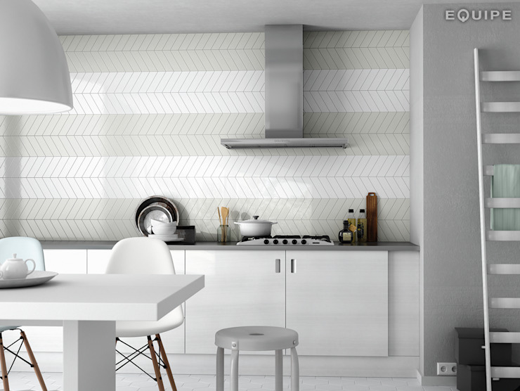 Equipe Ceramicas Modern kitchen Ceramic