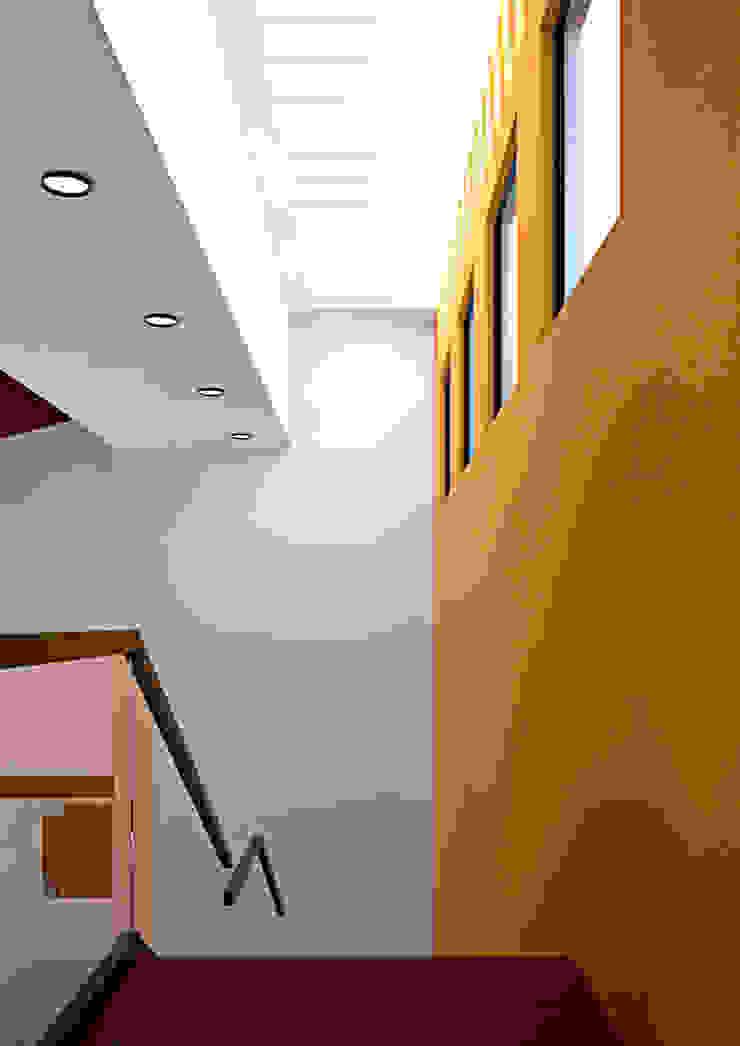 Escalera Salones mediterráneos de Laboratorio Mexicano de Arquitectura Mediterráneo
