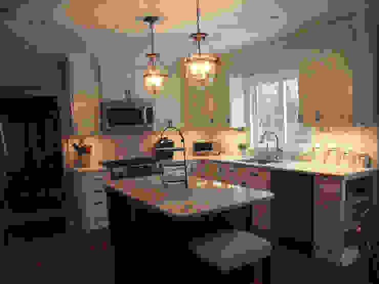 Light, Bright, White Kitchen by Kitchen Krafter Design/Remodel Showroom Classic
