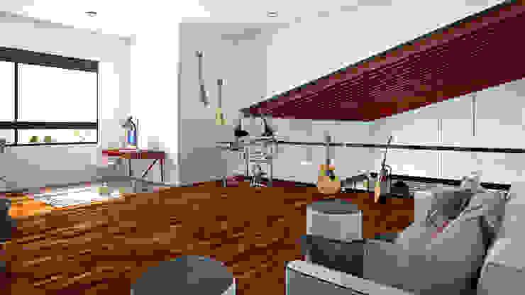 Estudio Estudios y despachos mediterráneos de Laboratorio Mexicano de Arquitectura Mediterráneo