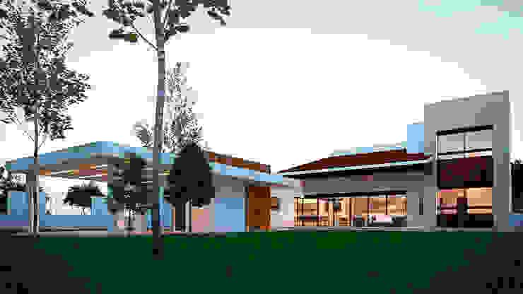 Mediterranean style house by Laboratorio Mexicano de Arquitectura Mediterranean